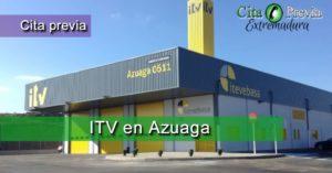 Cita Previa ITV ITV VEGA BAJA, S.A. en Azuaga