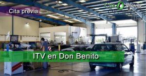 Cita Previa ITV ITV VEGA BAJA, S.A. en Don Benito