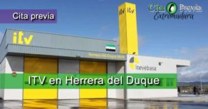 Cita Previa ITV ITV VEGA BAJA, S.A. en Herrera del Duque