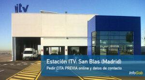 Estaciones itv en la provincia de Madrid