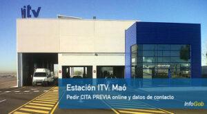 Estaciones itv en la provincia de menorca
